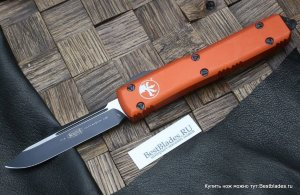 Microtech 121-1 OR Ultratech S/E Orange Standard