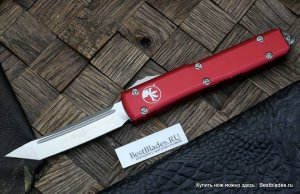 Нож Microtech Ultratech T/E Red Satin Standard 123-4 RD